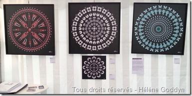 Helene goddyn_art et médecine_art et radiologie_art numérique_mandala humain_association oeil neuf_le village des arts_le vésinet_exposition Paris_wonderful art