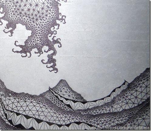 vague-wethe wave-emmanuelle-prudhomme-série Delta-spiritualité dans l'art-www.wonderful-art.fr
