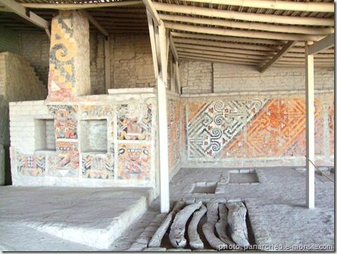 complexe archéologique del brujo-sepulture-dame-de-cao-et-peintures-dame de cao-www.wonderful-art-spiritualité dans l'art-taouage-chamanisme-guérisseuse-reine tatouée-