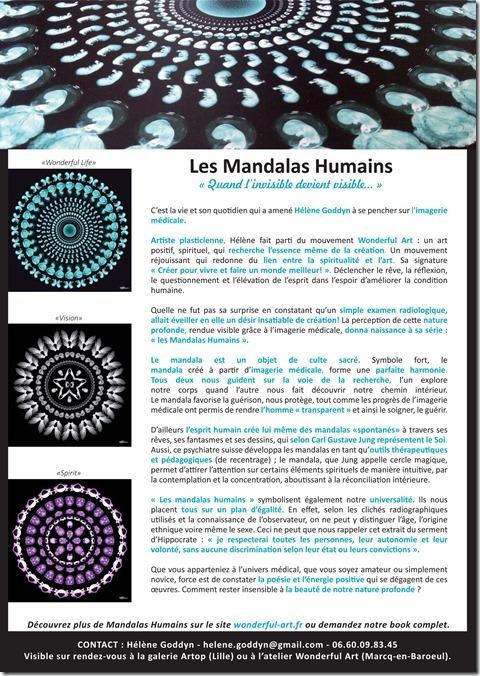 dossier de presse Mandalas Humains_Helene Goddyn.indd