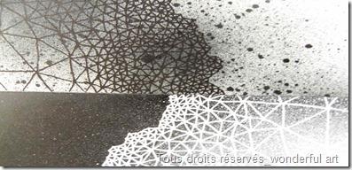 dark-matter_Delta_emmanuelle prudhomme_fractale_dessin contemporain_dessin avec des triangles_spiritualite et art_art contemporain_dessin de la matiere noire_dessin de l'espace