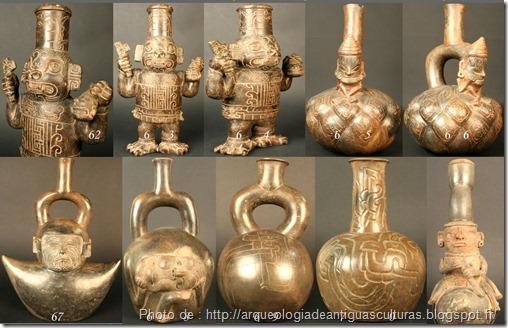 4 - Cerámica  Cultura CHAVÍN   _chanvin mère des civilisations andines_civilisation précolombienne_www.wonderful-art.fr