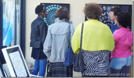 Portes-Ouvertes-des-Ateliers-d'Artistes-2014_Wonderful-Art_Helene-Goddyn_Emmanuelle-Prudomme_exposition-miroir_3