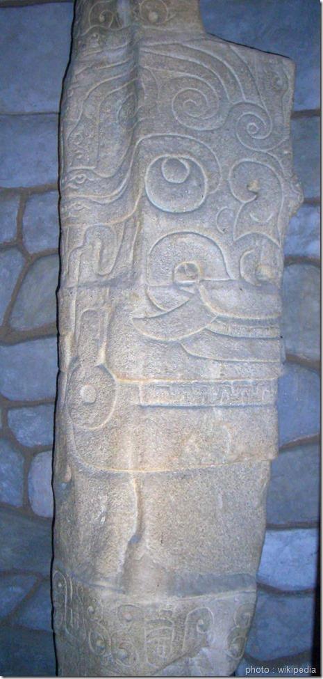 monolithe-Lanzón-Monolitico_chanvin mère des civilisations andines_civilisation précolombienne_www.wonderful-art.fr