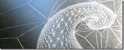 Fibonacci-Spiral_emmanuelle-prudhomme_delta_dessin-contemporain_dessin-geometrique_dessin-triangle
