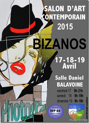 affiche bizanos-salon art contemporain 2015