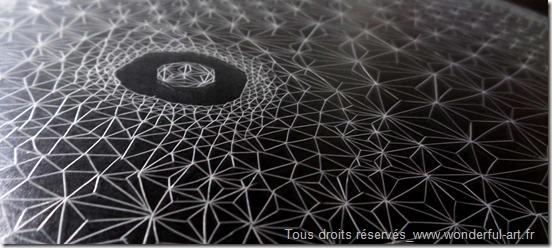 Delta_FLOYD_Emmanuelle Prudhomme-série DELTA- triangle- fractales_dessin contemporain_Dessin fractale_dessin triangle_nombre d'or_www.wonderful-art.fr