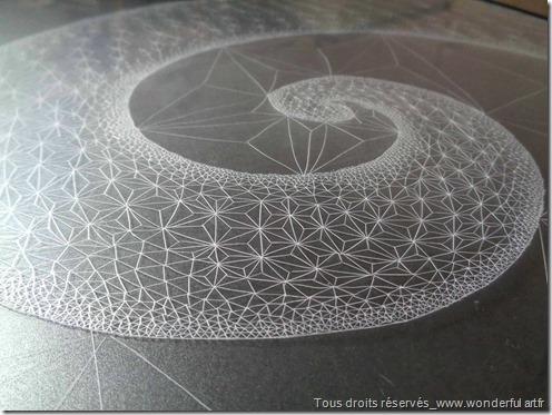 Fibonacci-spiral-#2-série-DELTA-Emmanuelle-Prudhomme-dessin-contemporain--spirale-de-Fibonacci-fractales-triangle-dessin-géométrique-3