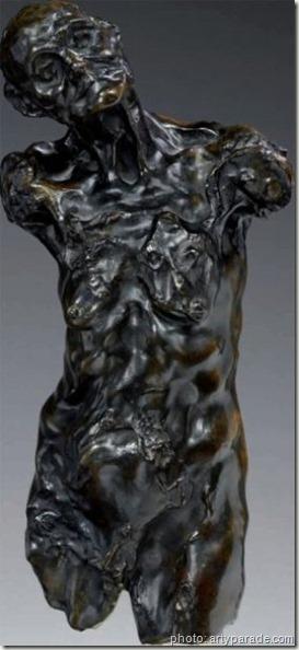 clotho buste par Camille Claudel