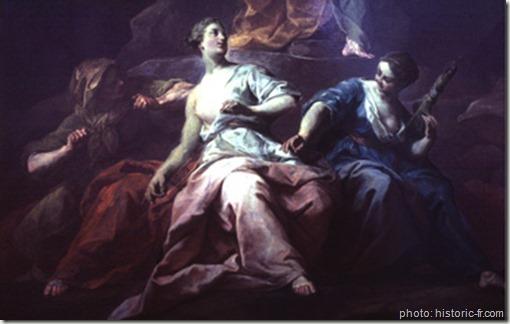 Orphée aux Enfers Jean Restout 1763