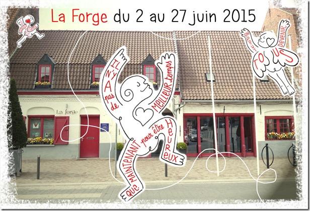 Exposition personnelle helene goddyn_Marcq-en-Baroeul_la Forge_centre de diffusion culturelle_2015