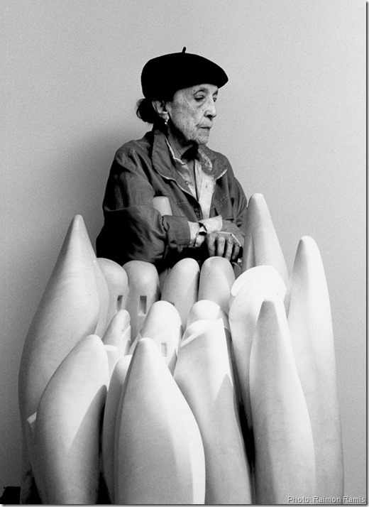 "louise_bourgeois et ""eye to eye"" 1970"