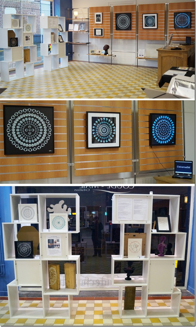 Galerie ephemere Wonderful Art_la Madeleine_Helene Goddyn_Emmanuelle Prudhomme_2015