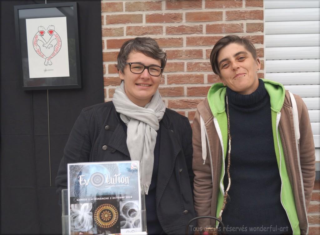 Hélène Goddyn et Manue Prudhomme POAA 2016