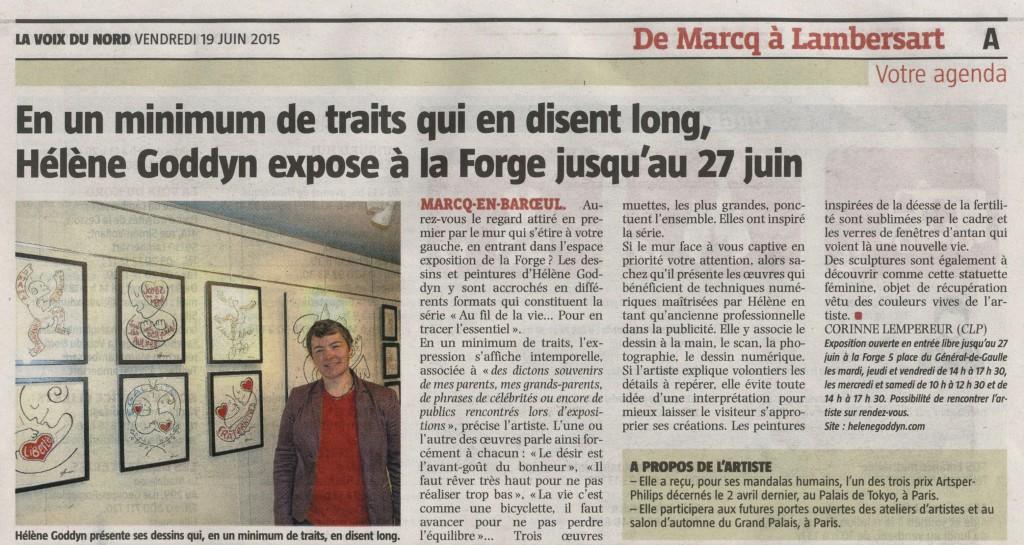 La VdN_vendredi 19 juin 2015_exposition la forge_Marcq-en-Baroeul