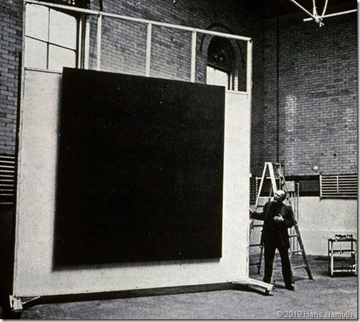 Mark Rothko, 69th street studio, CA, 1964