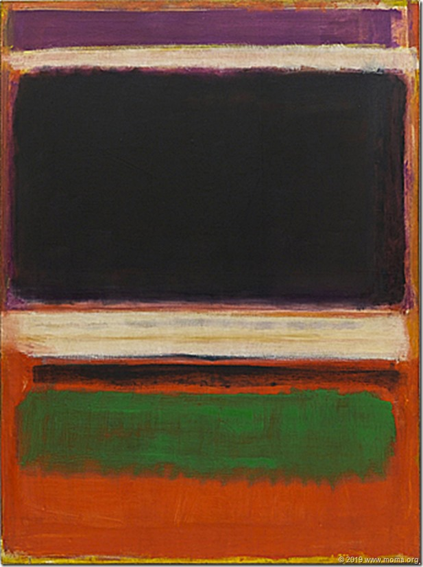 Number 10, 1950, Mark Rothko (New York, MOMA)