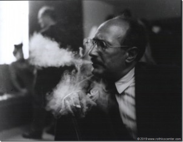 Rothko_smoke-300x236 W.Heick. Mark Rothko at the California School of Fine Art, San Francisco, 1949