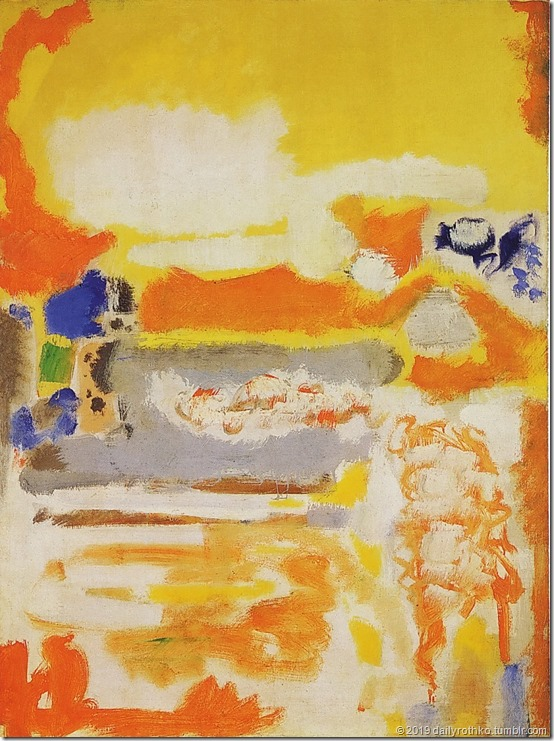 mark rothko,untitled 1949